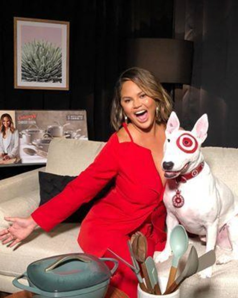 Photo - Chrissy Teigen is teaming with Target on a new kitchen line. (Instagram)