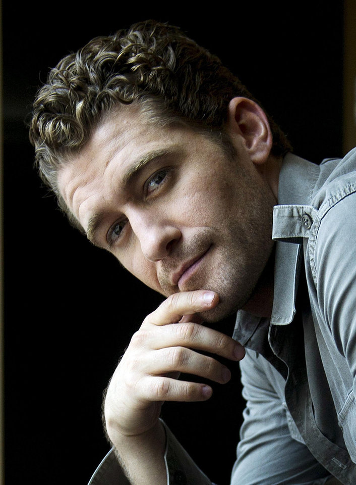 "Photo -  Singer and actor Matthew Morrison from the hit show ""Glee"" poses in Toronto, Canada  on  May 31, 2011. Morrison also has his own solo singing career in the works.  (AP Photo/The Canadian PRess, Nathan Denette)   ORG XMIT: NSD304"