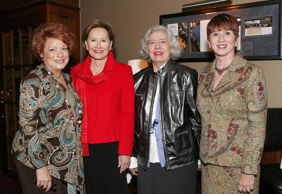 Sue Ann Hyde, Kaye Cook, Jeannette Sias, Cathy Leichter.	BY DAVID FAYTINGER, FOR THE OKLAHOMAN