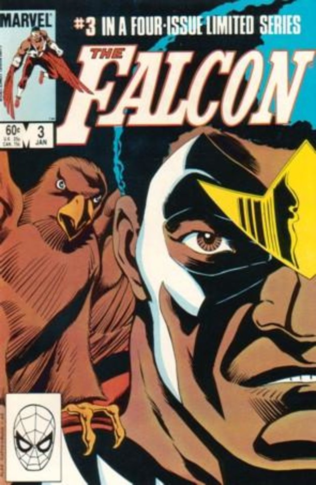 Photo - Falcon issue #3 from the character's first solo miniseries. [Marvel]