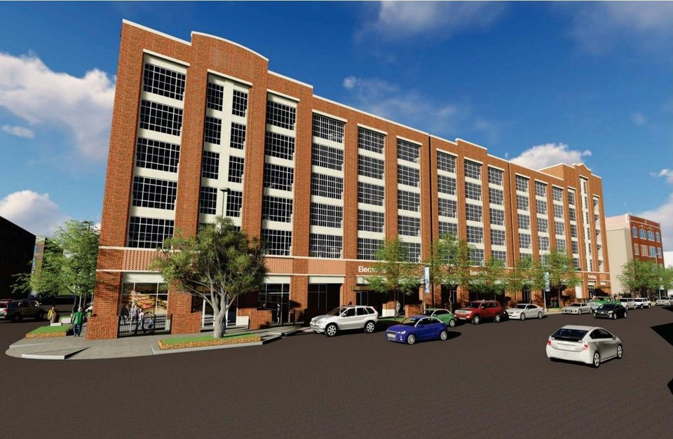 Garage Design Okc: Hotel, Eight-level Parking Garage Are Planned For Heart Of