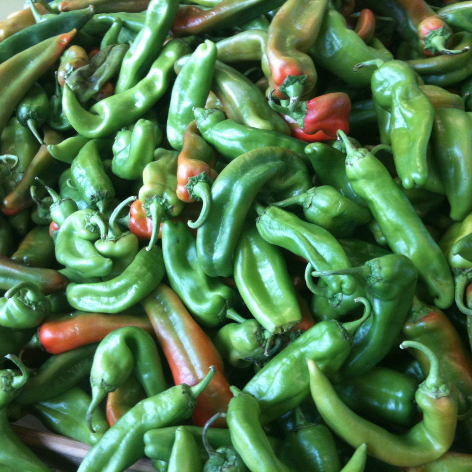 Green chile. PHOTO BY DAVE CATHEY, THE OKLAHOMAN <strong></strong>