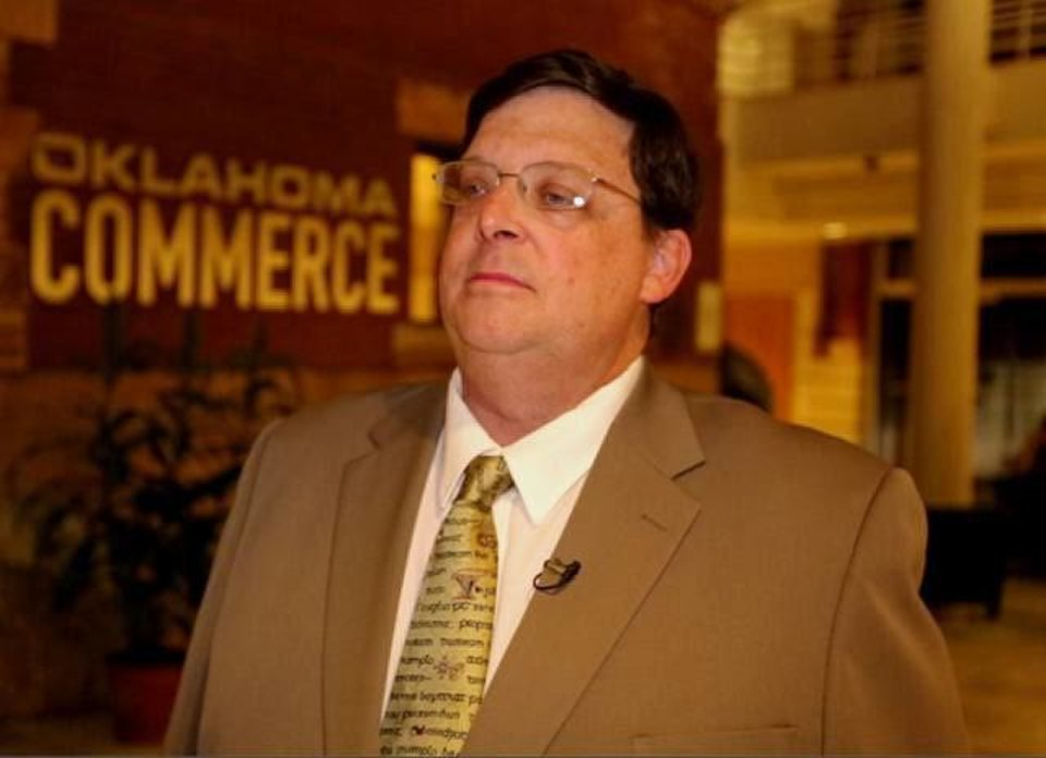 Photo - Don Hackler, deputy director at the Oklahoma Department of Commerce