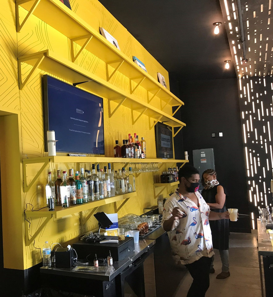 Photo - Kindred Spirits, a new bar opening at the end of October in the East Point development, had a soft opening event last weekend. [Dave Cathey/The Oklahoman]