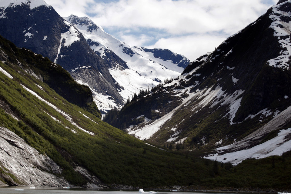 Photo - A mountain range is pictured in Southeast Alaska, Sunday, June 3, 2012.  Photo by Sarah Phipps, The Oklahoman