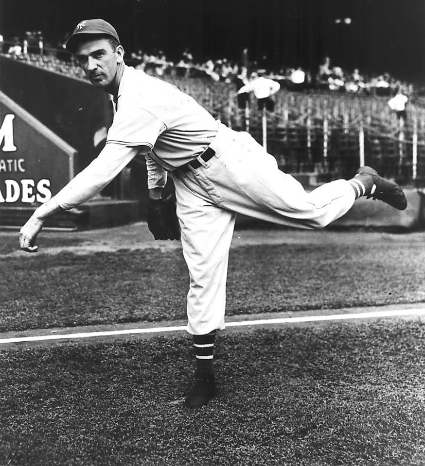 Photo - Carl Hubbell, baseball pitcher from Meeker, Oklahoma.