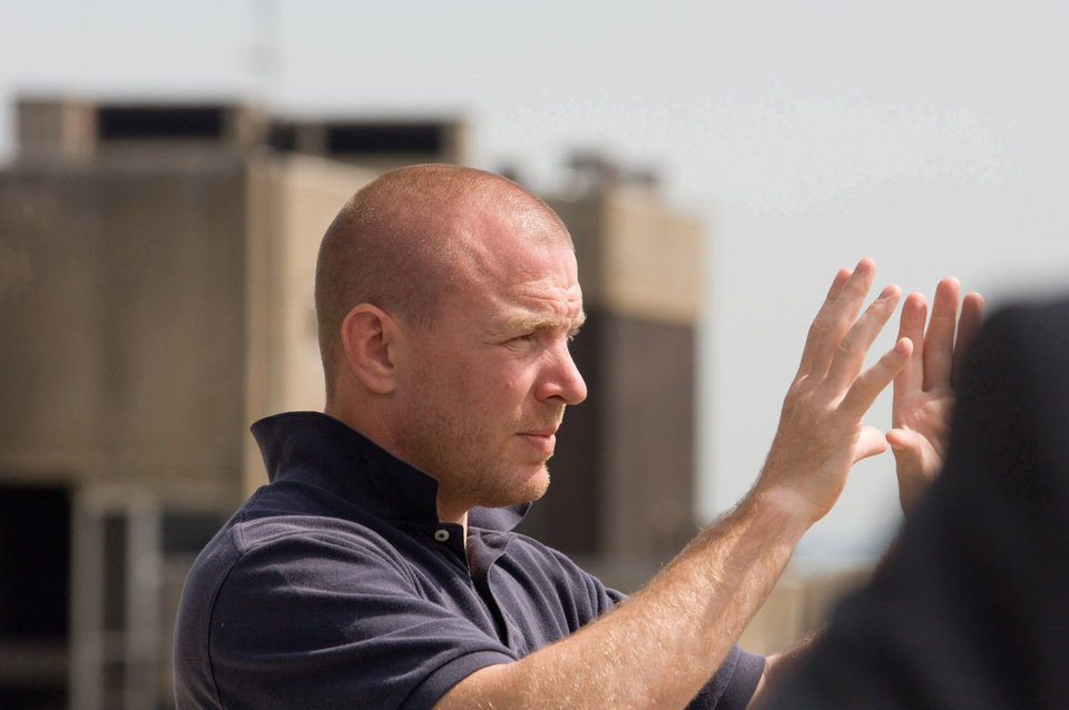 Photo - MOVIE: Director GUY RITCHIE on the set of Dark Castle Entertainment's action film