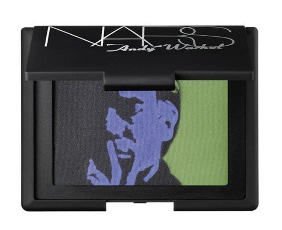This undated product photo released by Nars Cosmetics shows eye shadow from the Andy Warhol collection. Francois Nars\' company has taken on Andy Warhol\'s silvery Factory, silkscreened superstars and avant-garde films in a limited-edition cosmetic collection, exclusive to Sephora stores until Nov. 1. (AP Photo/Nars Cosmetics)