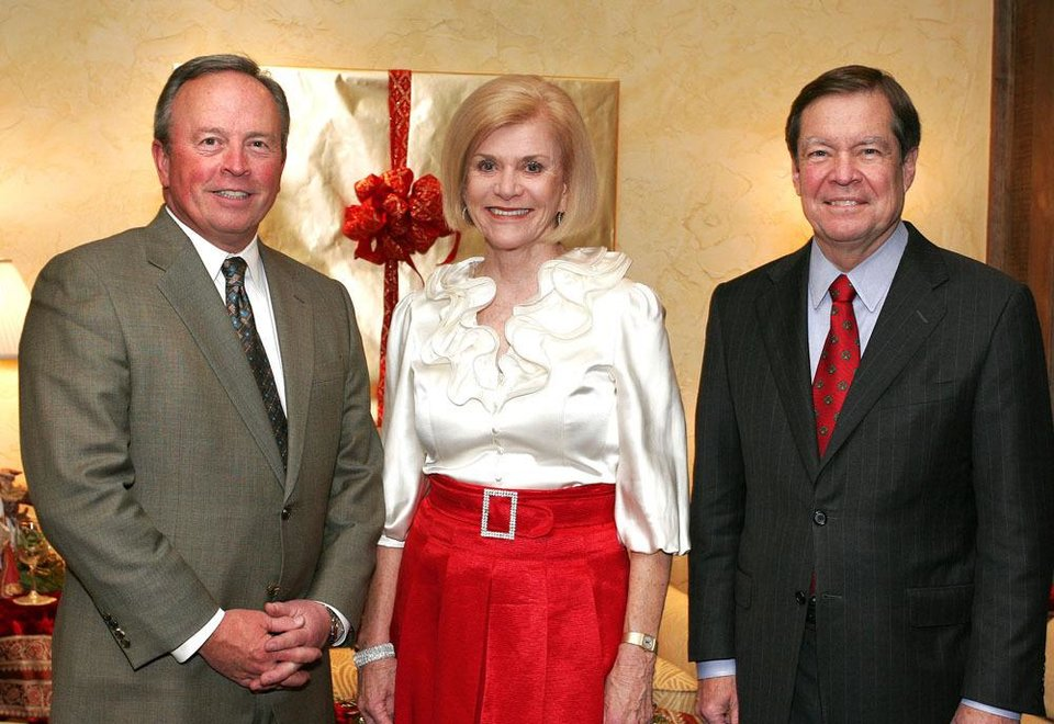 David Thompson, Judy Love and Larry Nichols.  PHOTO BY DAVID FAYTINGER, FOR THE OKLAHOMAN