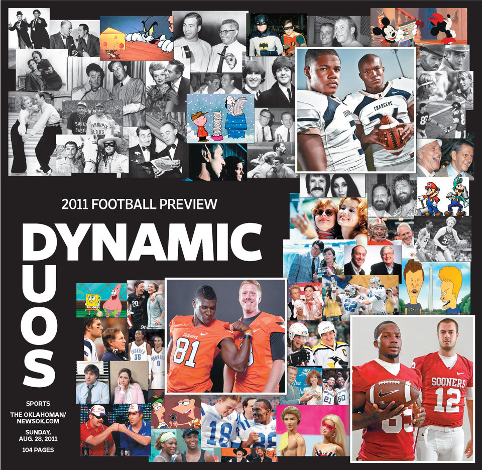 Photo - The cover of the 2011 football preview.