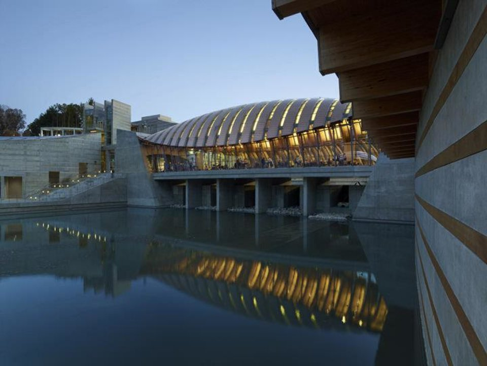 Photo - The Crystal Bridges Museum of American Art is in Bentonville, Ark. Photo provided by Timothy Hursley