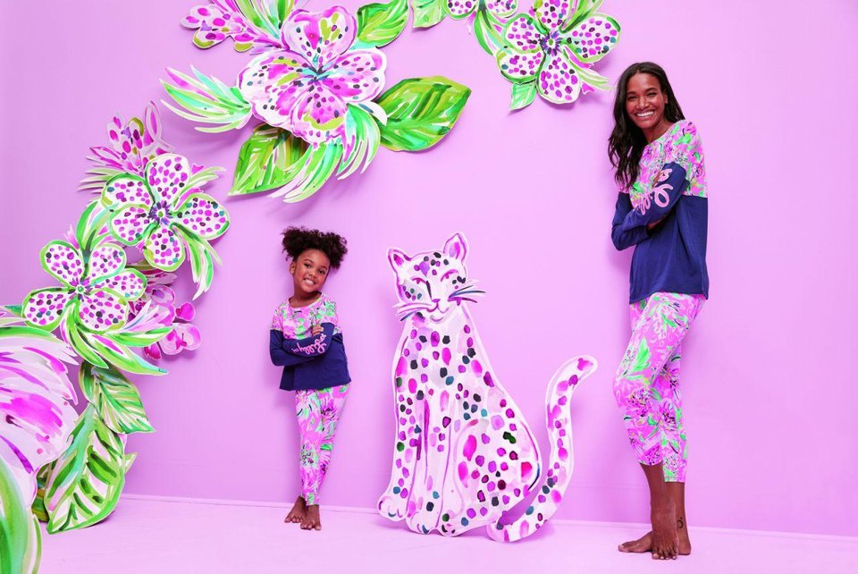 Photo - Lilly Pulitzer's new collection, Paws for a Cause, will benefit the Breast Cancer Research Foundation.