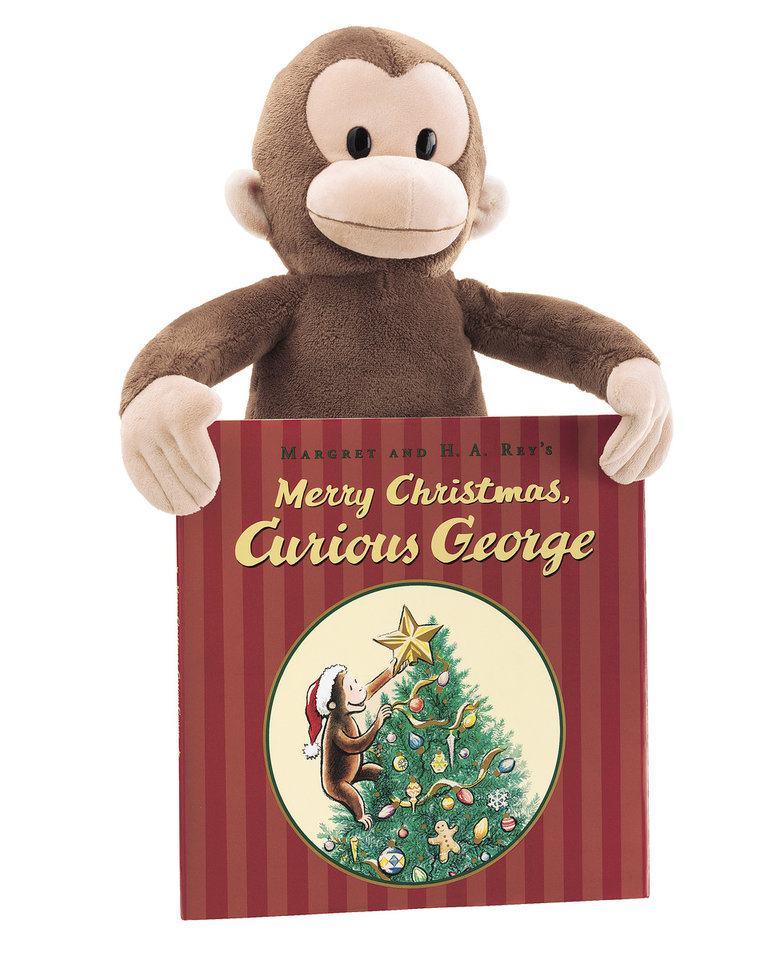 Curious George books and plush toys are on sale for $5 each as part of Kohl's Cares for Kids holiday program.