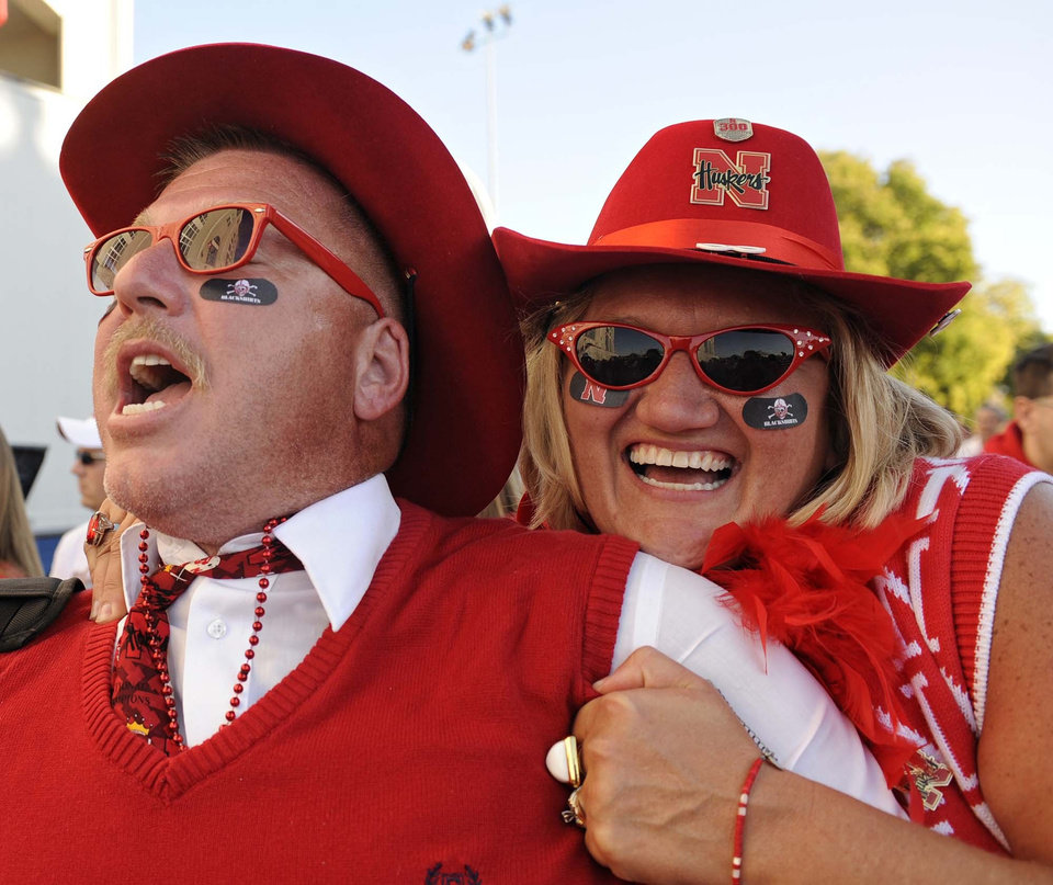 Photo - Nebraska fans exude class and are truly different from any other fans in college football. Photos courtesy Lincoln Journal Star
