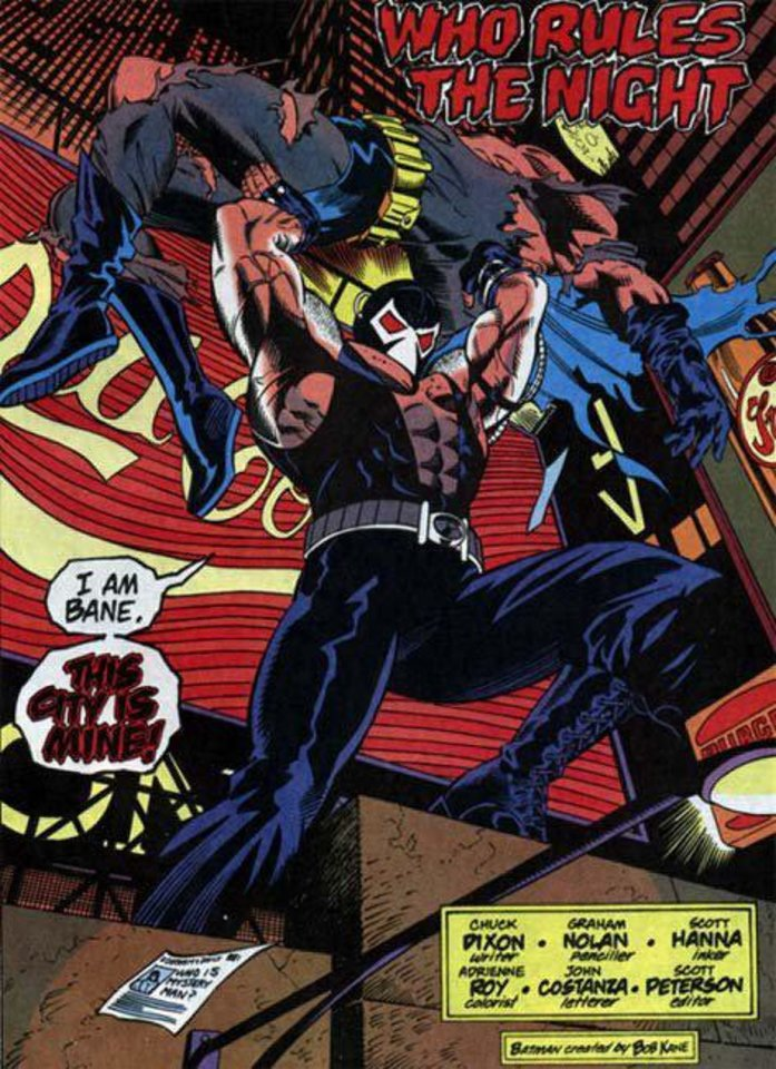 Bane as he appears in �Knightfall.�