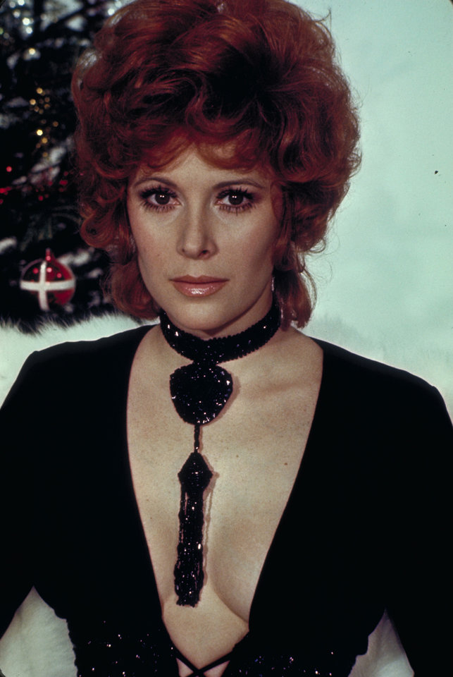 This undated publicity photo provided by United Artists and Danjaq, LLC shows Jill St. John from the James Bond 1971 film,