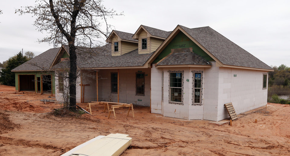 Oklahoma homeowner chooses concrete forms over wood frame for Concrete construction homes