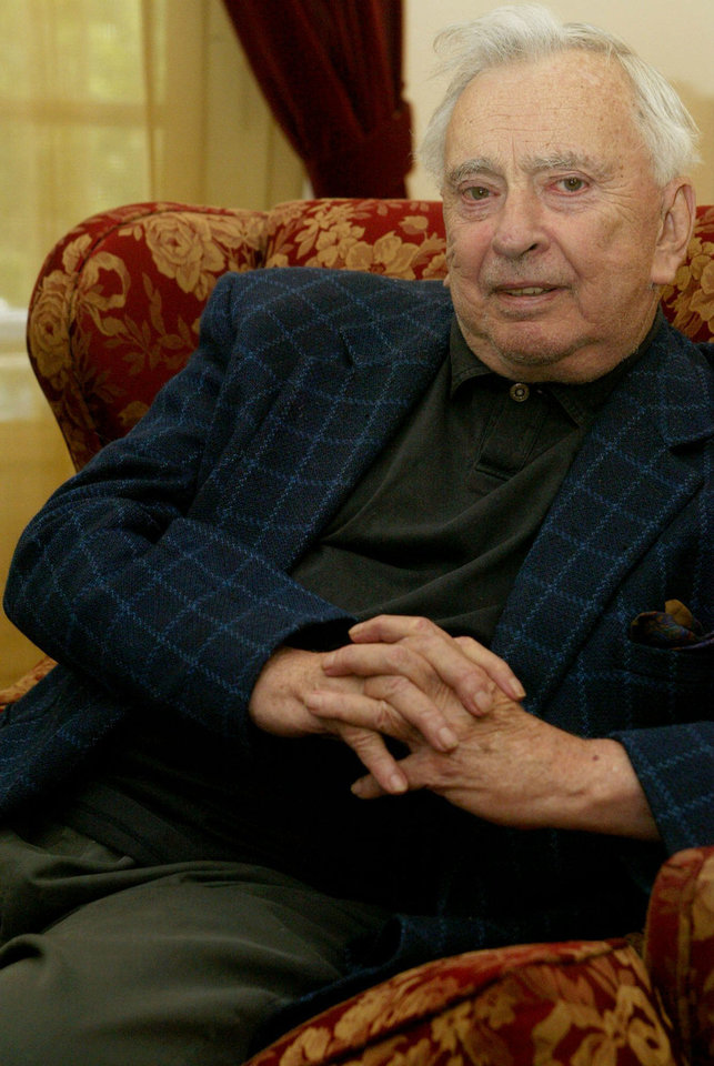 Photo - Author Gore Vidal poses for a photo April 4, 2003, at his home in Los Angeles. Vidal is the subject of an American Masters special,
