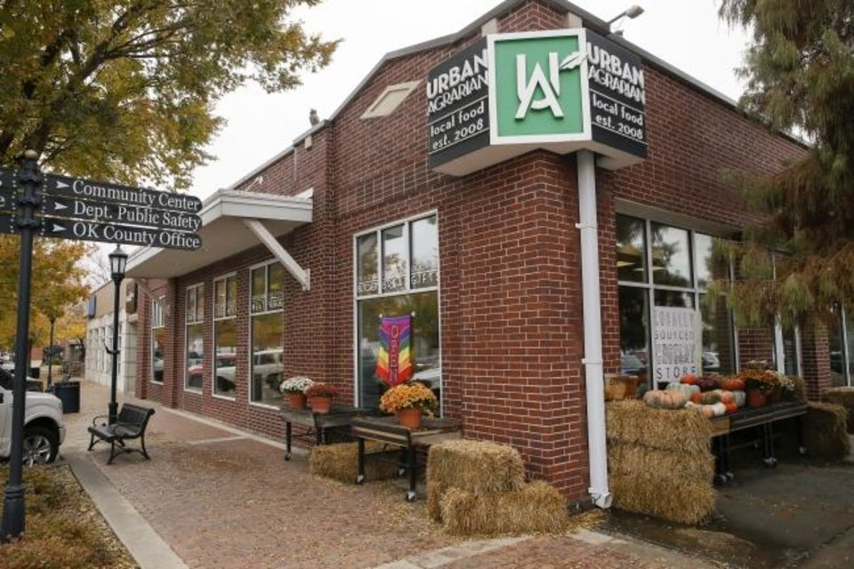 Photo -  Exterior of Urban Agrarian, 1 E Main St., in Edmond. [Nate Billings/The Oklahoman]