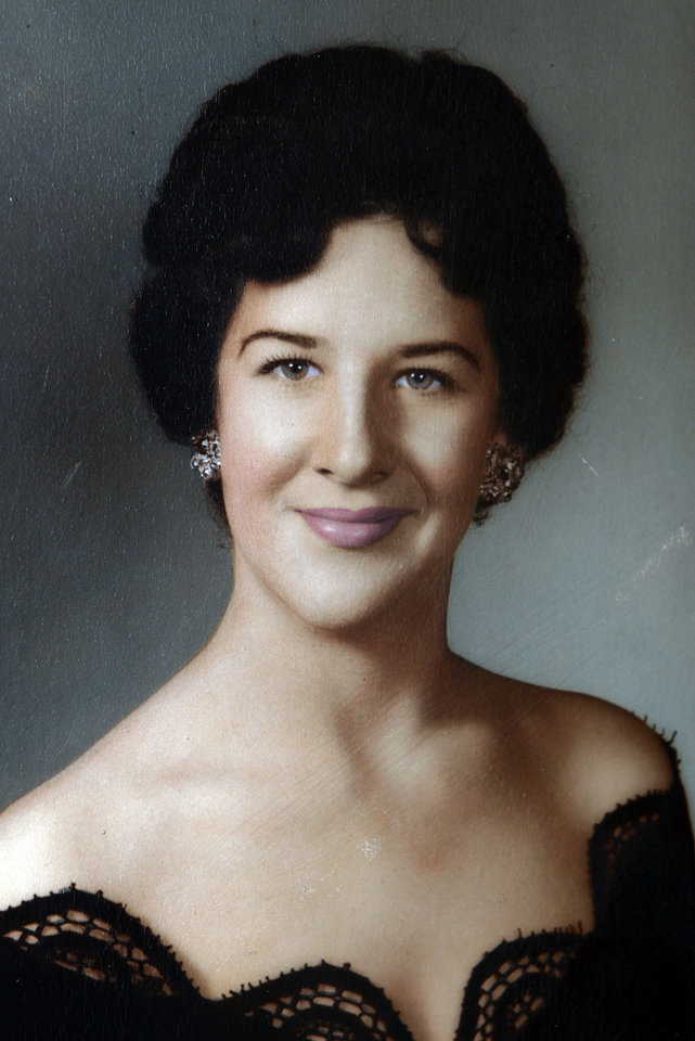 Photo - JoAnn Wakefield Shown in her 1962 senior picture