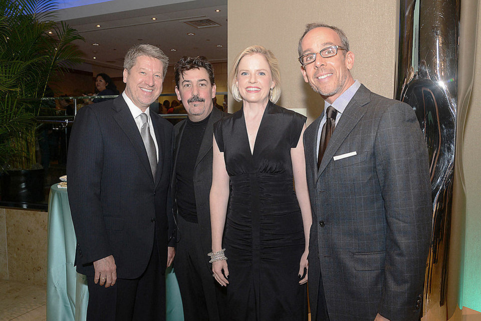 Michael Whittington, Mark McKenna, Jennifer Klos, Frank Considine. Photo by David Faytinger, for The Oklahoman