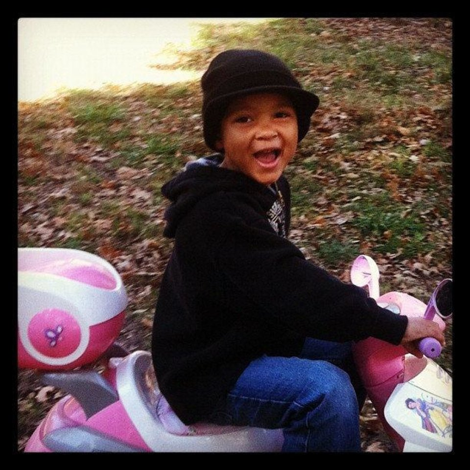 Photo - This photo of Kannon Cooper was taken in November 2012. Photo provided.