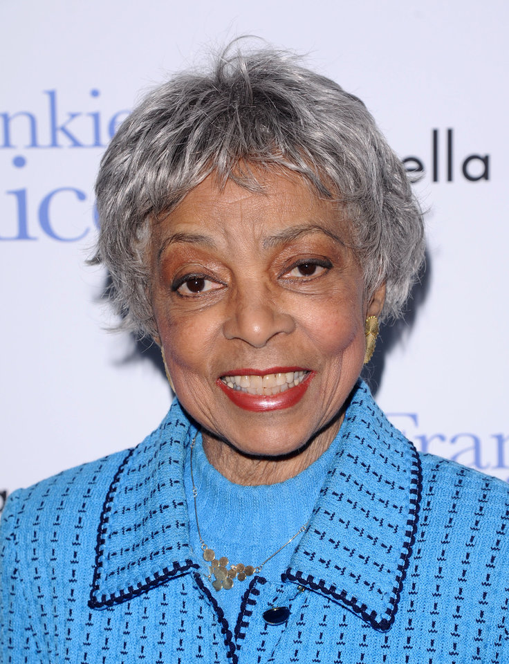 Photo - FILE - In this Nov. 17, 2010 file photo, Ruby Dee attends a special screening of