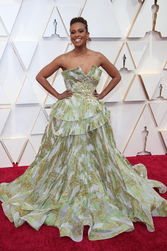 Photo - Feb 9, 2020; Los Angeles, CA, USA;   Ryan Michelle Bathe arrives at the 92nd Academy Awards at Dolby Theatre. Mandatory Credit: Dan MacMedan-USA TODAY