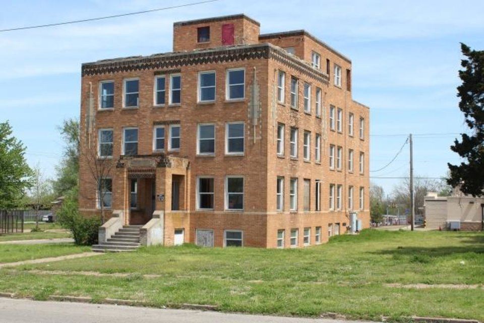 Photo -  Capitol Hill General Hospital at 2400 S Harvey Ave. in Oklahoma City has been added to the National Register of Historic Buildings. [PROVIDED]