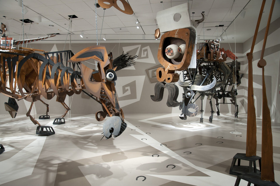 Photo - Los Angeles artist Wayne White, best known as an Emmy-winning designer and puppeteer for the TV show