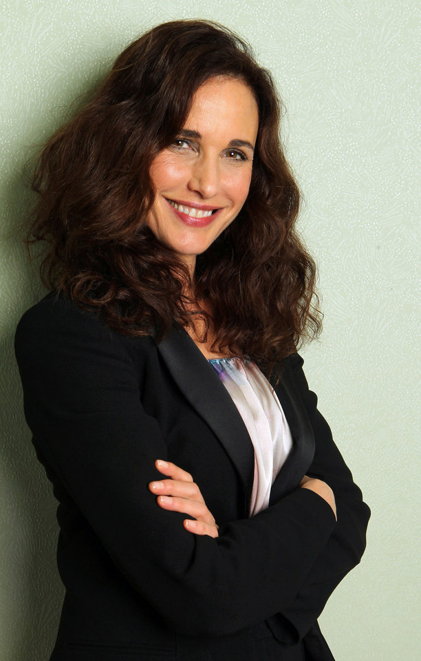 Photo - FILE - This May 27, 2012 file photo shows actress Andie MacDowell during the 65th international film festival in Cannes, southern France.  MacDowell stars in
