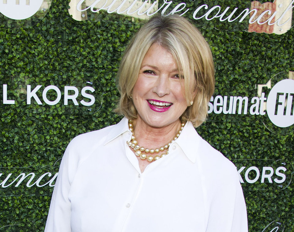 Photo - FILE - This Sept. 4, 2013 file photo shows Martha Stewart at the 2013 Couture Council Award Luncheon in New York. Stewart was honored for her public television series