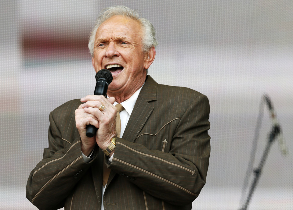Mel Tillis performs during the Oklahoma Twister Relief Concert, benefiting victims of the May tornadoes, at Gaylord Family - Oklahoma Memorial Stadium on the campus of the University of Oklahoma in Norman, Okla., Saturday, July 6, 2013. Photo by Nate Billings, The Oklahoman