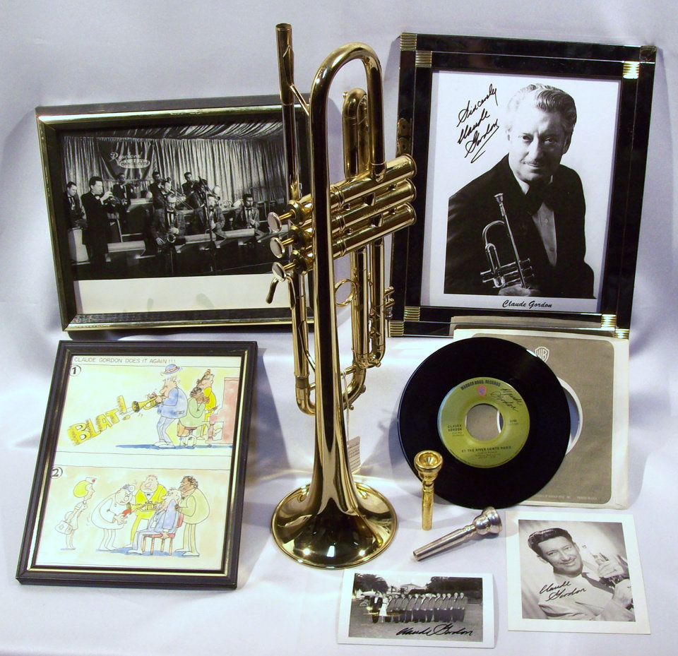 "CLAUDE GORDON ""The King of Brass\"" Big Bear California ESTATE COLLECTION."