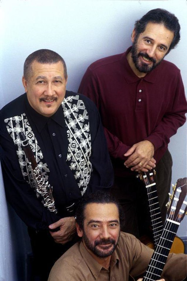 Left: Paquito D'Rivera and the Assad Brothers  Photo provided