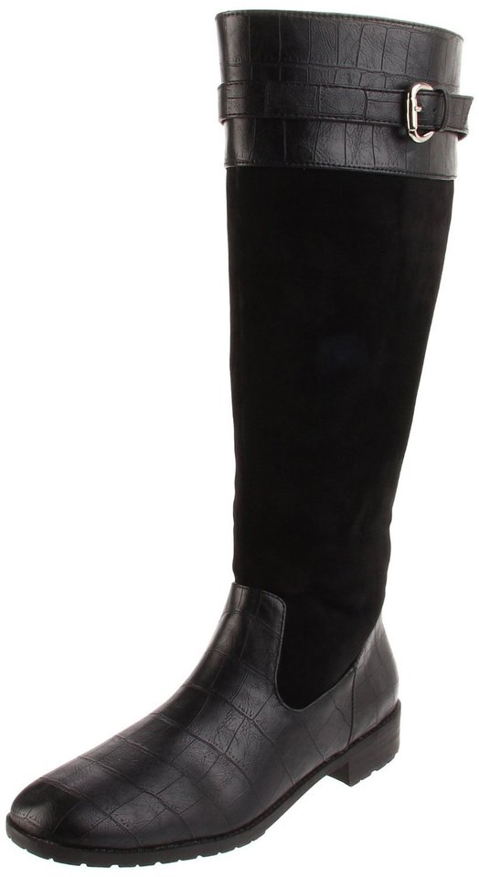 "Get the ""Bond Girl"" look of actress Berenice Marlohe by paring a trench coat with boots such as this women's Denver boot from Annie shoes. ($44.50 at Amazon.com) (Amazon.com/Los Angeles Times/MCT)"