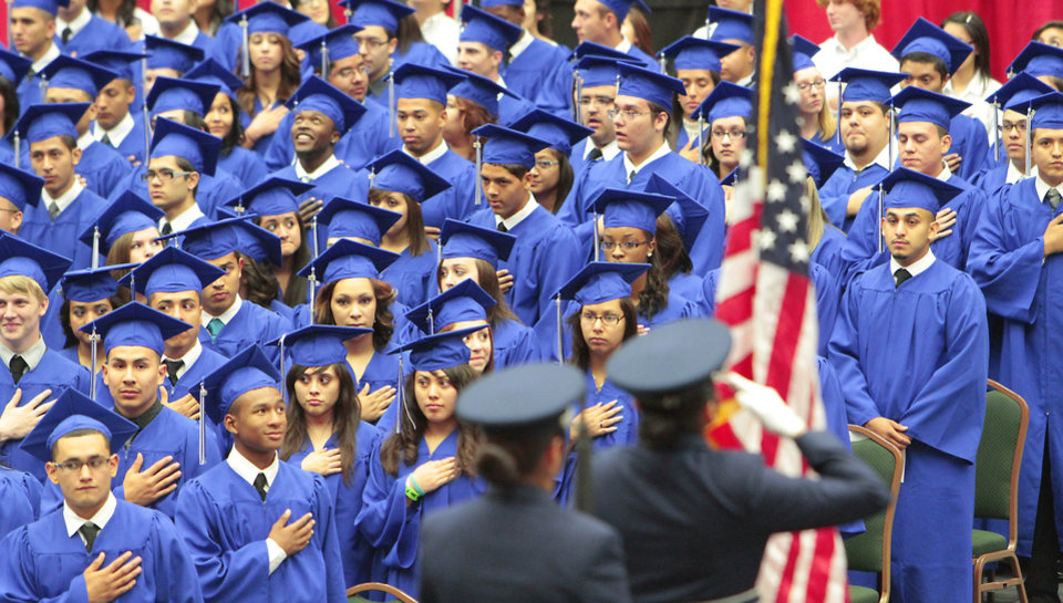 Photo -  Southeast High School graduation ceremony was held at the Cox Convention Center in this photo from  2012. [THE OKLAHOMAN ARCHIVES]