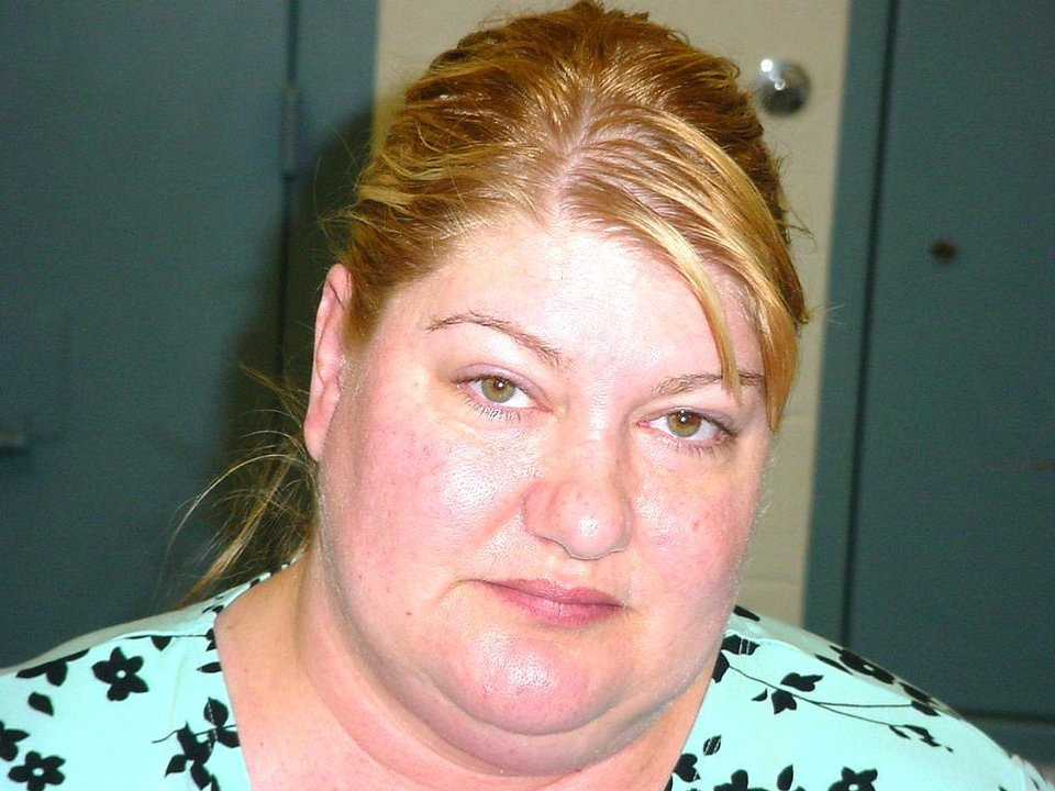 Photo - Kathryn Jan Davis Charged with domestic abuse in Jackson County.
