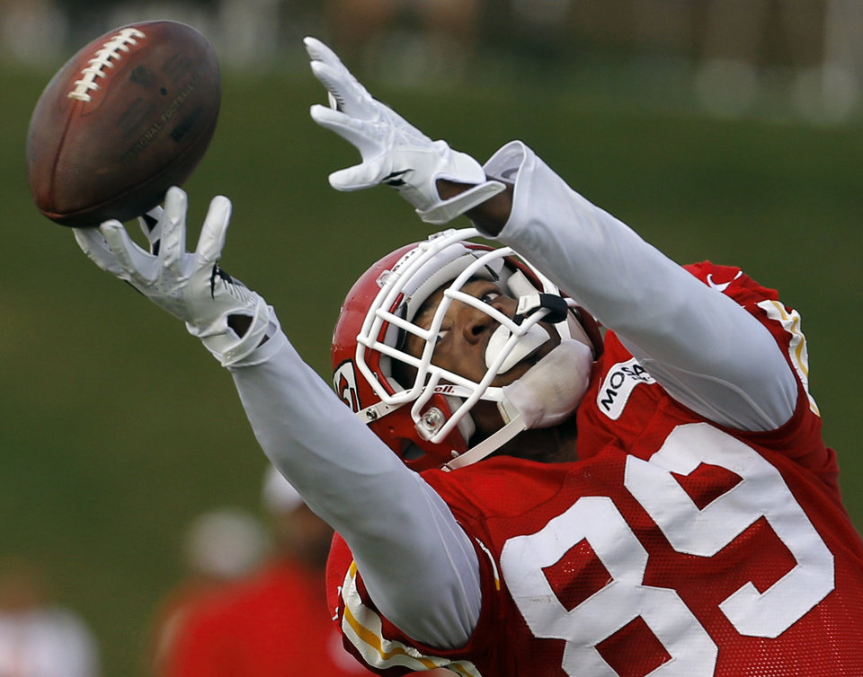 The Chiefs traded wide receiver Jon Baldwin to the San Francisco 49ers on Monday.  AP Photo