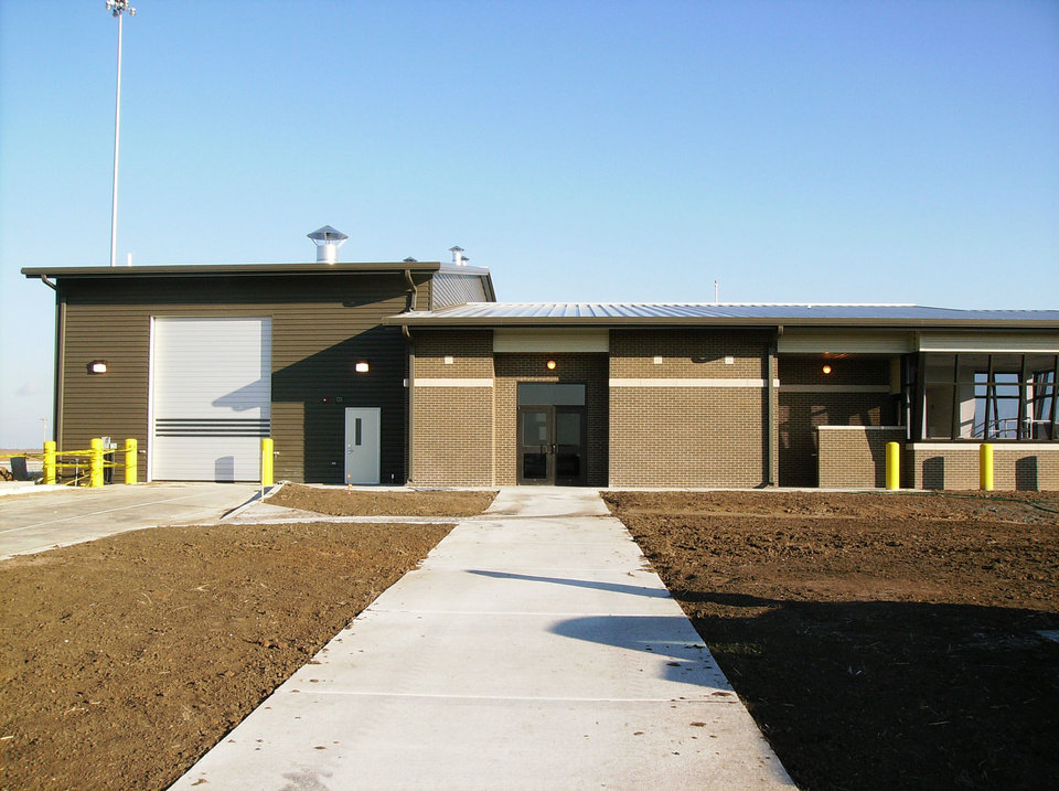 Photo - The new port of entry weigh station in northern Oklahoma.   - PROVIDED
