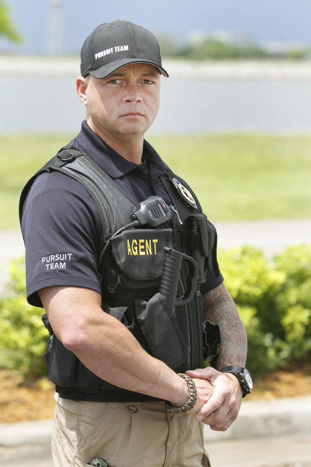 Pursuit Team OKC member Mike Parsons. <strong>Steve Gooch - The Oklahoman</strong>