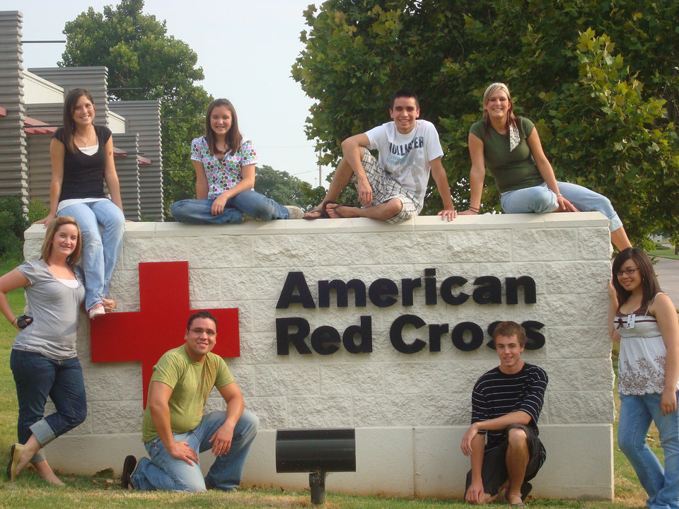 Your student can become involved with the Red Cross. To learn more, visit www.okc.redcross.org.<br/><b>Community Photo By:</b> American Red Cross of Central OK<br/><b>Submitted By:</b> Jennifer , Noble