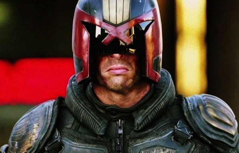 "Photo - Karl Urban appears in a scene from ""Dredd 3D."" Photo provided by Lionsgate"