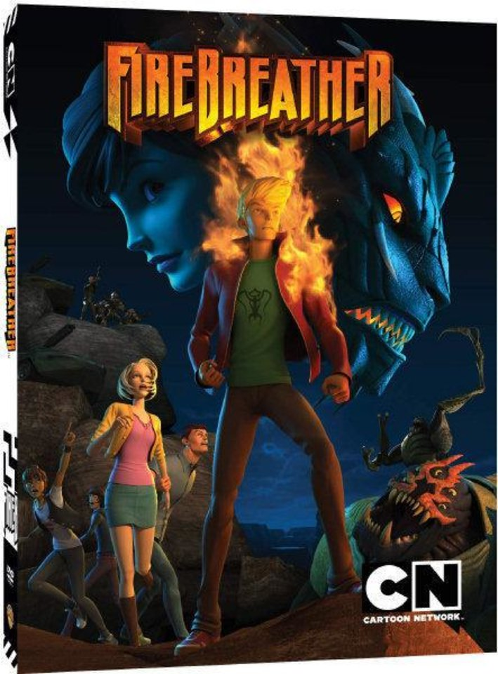 "The DVD cover to ""Firebreather."" Cartoon Network photo <strong></strong>"