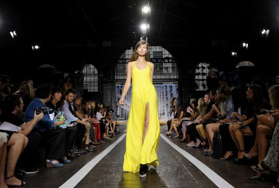 Photo -  Mercedes-Benz Fashion Week kicks off Thursday and continues through Sept. 12 in NYC.