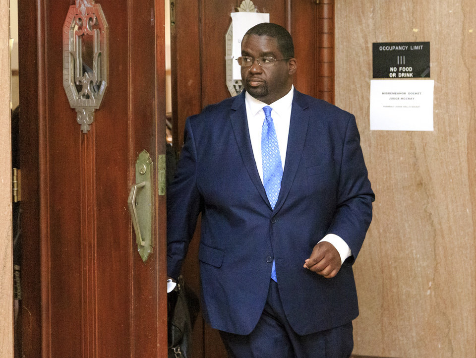 Photo -  Charged Oklahoma City Councilman John A. Pettis Jr. made his first court appearance Tuesday. [Photo by Chris Landsberger, The Oklahoman Archives]