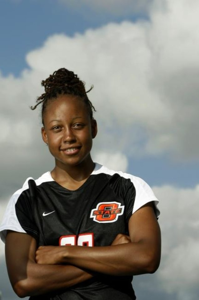 Photo -  Yolando Thomas, who was an All-American at Oklahoma State, is now a soccer coach in Tulsa. [OKLAHOMAN ARCHIVES]