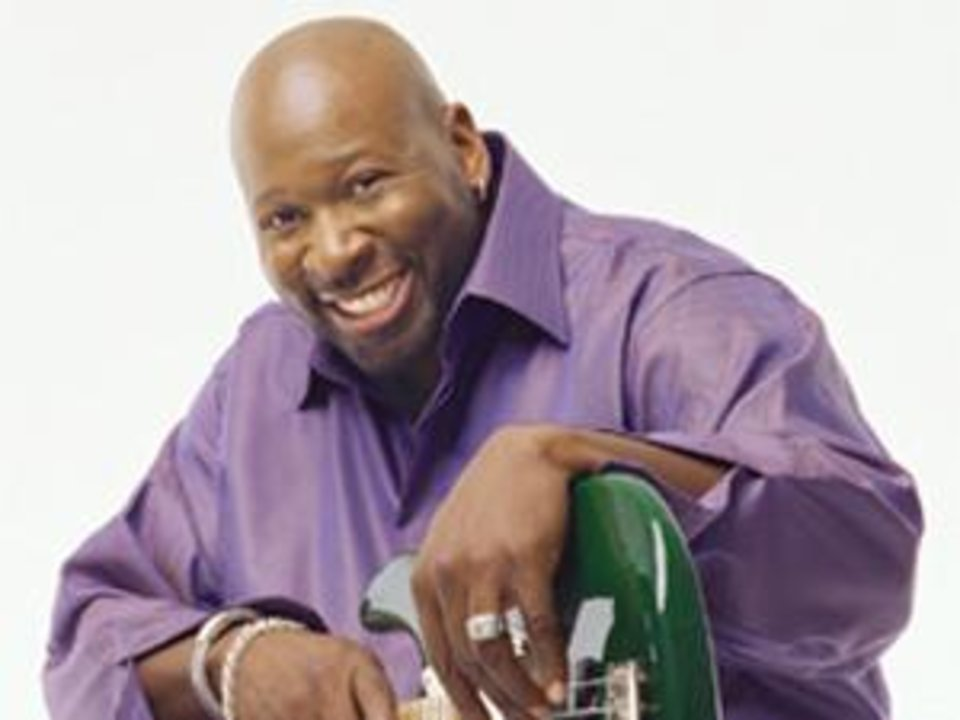 Photo - Former NBA player and jazz guitarist Wayman Tisdale. Photo provided