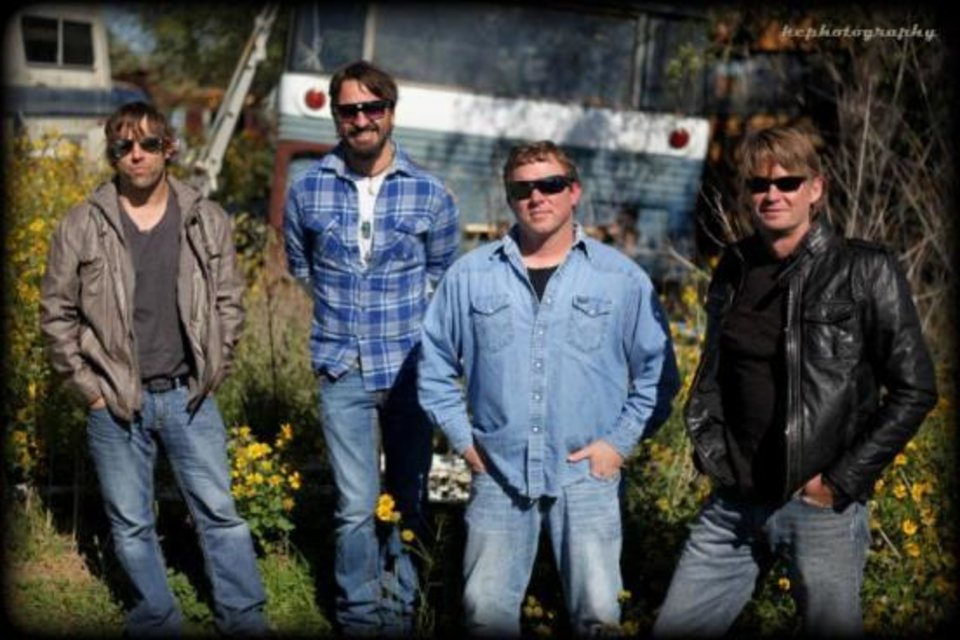 Photo -  Cody Canada & The Departed will play the 2014 Drumright OilPatch Festival on Friday. Photo provided