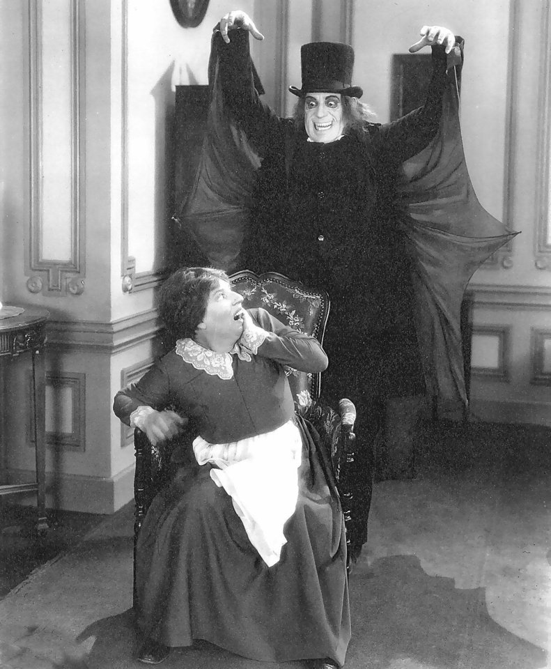 "Lon Chaney played a vampire in the movie ""London After Midnight."""